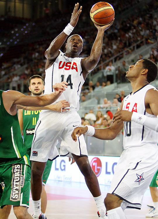The two-time NBA champion won a bronze medal with Team USA at the 2008 Olympics in Athens, but was unable to participate in the 2006 and 2007 FIBA tournaments because of personal reasons. Last season with the Lakers, Odom ranked sixth in the league in total rebounds, and given that the U.S. boasts a small frontcourt, it will rely heavily on Odom's strength down low.