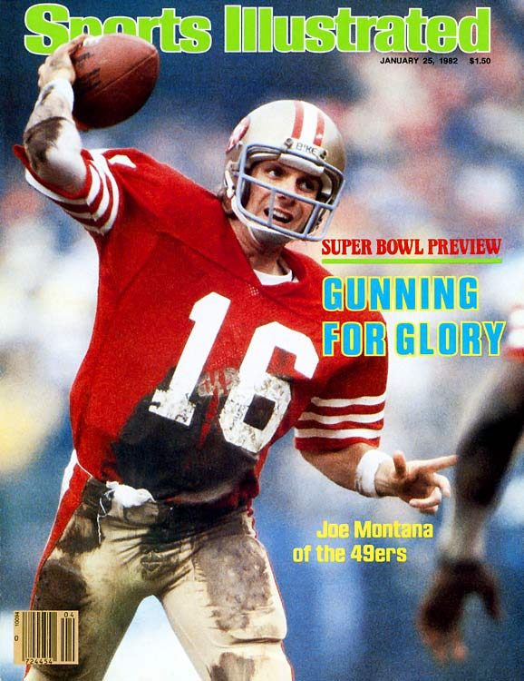 Joe Cool was at his best when the money was on the line. He quarterbacked the Niners to four Super Bowl wins and was named Super Bowl MVP on three occasions.     Runner-up: Len Dawson  Worthy of consideration: George Blanda, Frank Gifford, Vinny Testaverde