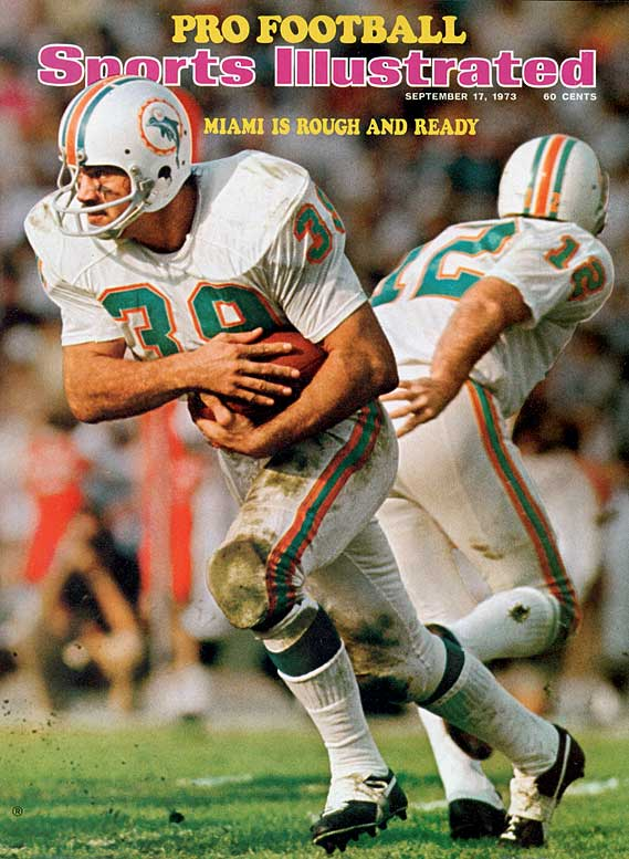 He defined punishing running for the great Miami teams of the 1970s. Csonka was a three-time All-Pro and the MVP in Super Bowl VIII. His career totals: 8,081 yards rushing, 106 receptions and 68 touchdowns.  Runner-up: Hugh McElhenny,  Worthy of consideration: Sam Cunningham, Steven Jackson