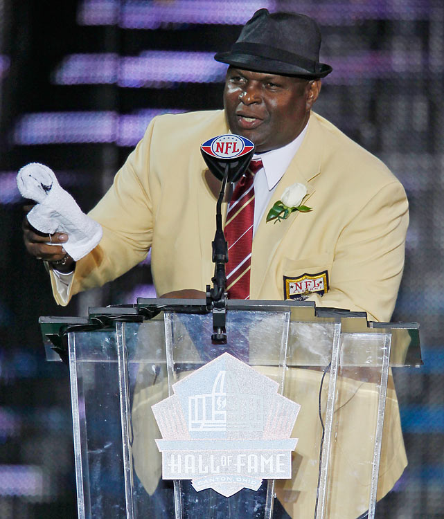 Jackson helped key the Saints' turnaround in the 1980s, beginning as a rookie in 1981 when he was the team's leading tackler and recorded eight sacks. He made six Pro Bowls and was named first-team All-Pro in 1986, '87, '92 and '93. Jackson played his final two seasons in San Francisco and retired in 1995 with 128 career sacks, not counting his rookie total because the stat did not become official until 1982.