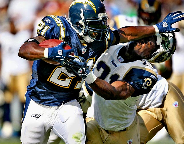 Career Rushing Yards:  12,490  Career Rushing Touchdowns: 138  Career Rushing Average:   4.3  Career Receptions:             530  Career Receiving Yards:    3,955  Career Touchdowns:     153  Career Pro Bowls:     5  Super Bowls Won:     0