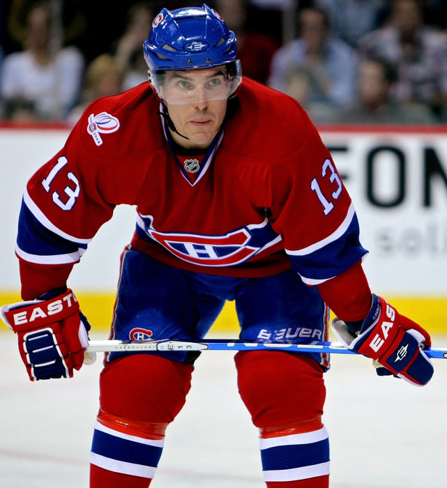 Cammalleri has scored more than 25 goals four times in his seven-year career, but his claim to fame came in the 2010 Stanley Cup playoffs. Despite Montreal's elimination in the conference finals, Cammalleri led all goal-scorers with 13.