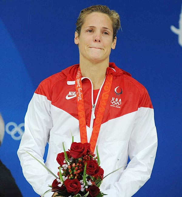 Torres has defied the laws of nature throughout her career as a swimmer, qualifying for the Olympics five times, and winning a silver medal in the 50 free style at 41.