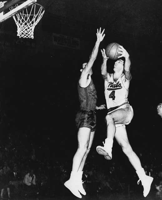 Schayes won the NBA championship with the Syracuse Nationals in 1955 and is a member of the NBA Hall of Fame, as well as one of the 50 greatest players of all time.