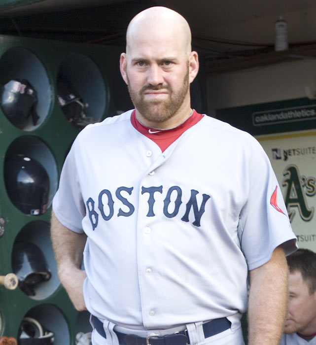"With his penchant for getting on base, Youkilis was dubbed ""Greek God of walks"" in the book Moneyball . The former Red Sox star made two trips to the All-Star Game and has won a Gold Glove award in parts of seven seasons."