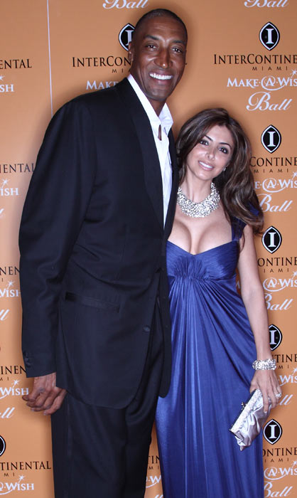 Pippen and his wife, Larsa, attend the 15th Annual Inter-Continental Miami Make-A-Wish Ball in Miami.