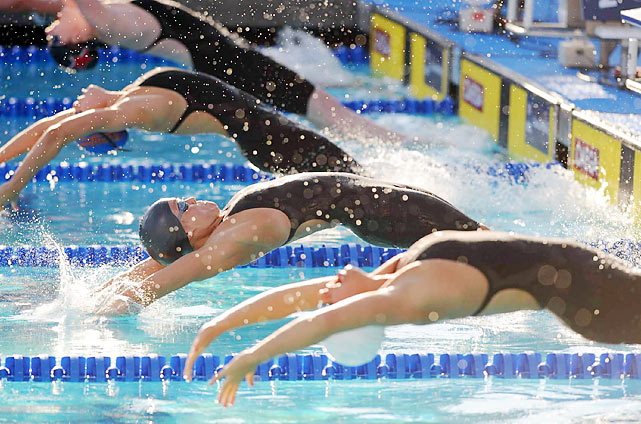 Often overshadowed by Phelps, Coughlin has carved a distinguished Olympic career of her own, winning 11 medals in 11 Olympic events.  Her six medals in Beijing are the most medals won by an American woman in any sport as well.  Coughlin will bring that pedigree to the Pan Pacifics, racing in the women's 100 backstroke and 100 freestyle.