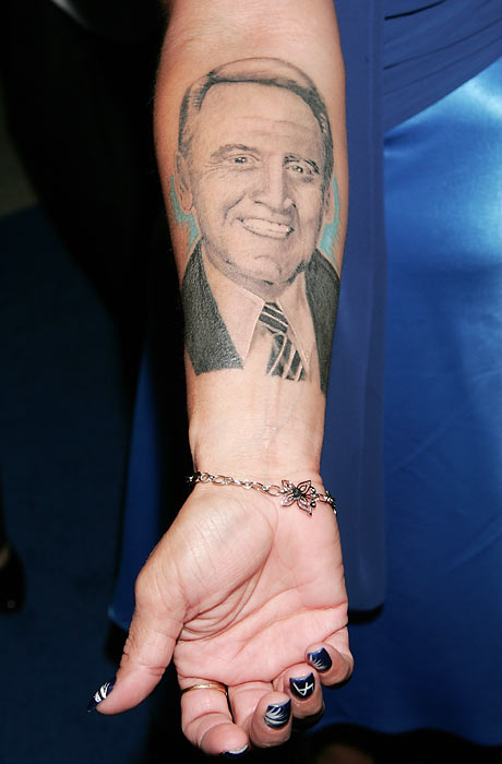 A Dodger fan shows her dedication to Scully with a personalized tattoo. (Send comments to siwriters@simail.com)