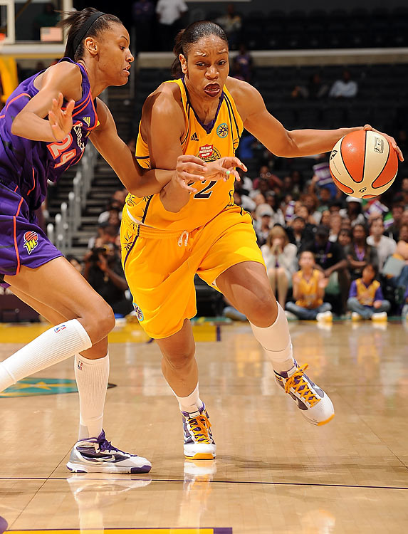 After winning four league titles with the now defunct Houston Rockets, Tina Thompson, the WNBA's career scoring leader and the only original player still active, has spent the last decade looking for her fifth. To make it happen this year, she and the Sparks must get past top-seed Seattle (28-6) first.