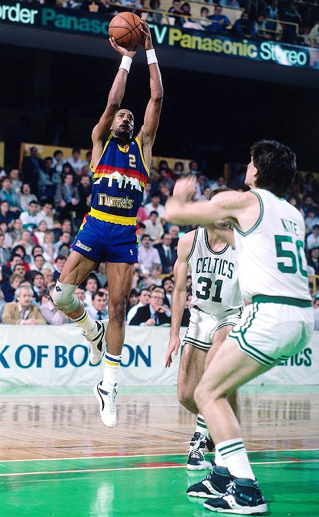 After an unceremonious ending to his illustrious NBA career, Alex English signed a one-year deal with the Italian team Depi Napoli. English was able to find his scoring stroke again amid the Mediterranean air, averaging 13.9 points in 18 contests.