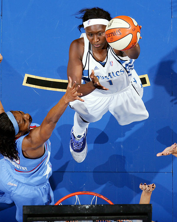 Named to an All-WNBA team for the first time in her career, Crystal Langhorne, the 2009 Most Improved Player, deserved it.  Shouldering the load for the Washington Mystics, Langhorne averaged 16.3 ppg and 9.7 rpg and led the Mystics to the No. 1 seed in the Eastern Conference.