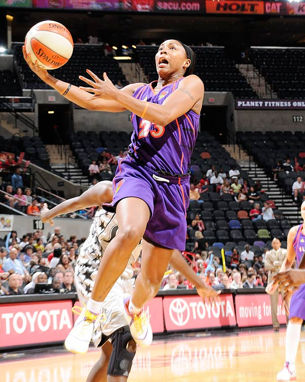 Handed the keys to the New York Liberty offense, Pondexter soared, scoring 21.4 ppg and leading the Liberty to the No. 2 seed in the Eastern Conference.