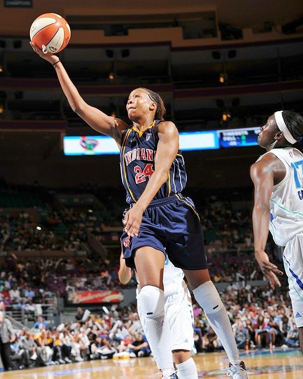 The 2010 WNBA Defensive Player of the Year, Tamika Catchings also finished second in MVP voting behind fellow first-teamer Lauren Jackson.  Catchings led the league in steals (2.3 per game) for the sixth time in her career.