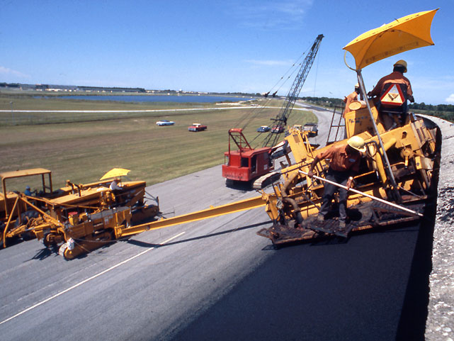In 1978 the track was repaved, marking the first time new asphalt had been laid down since its construction. But that project was a resurfacing and the existing pavement was not stripped away.