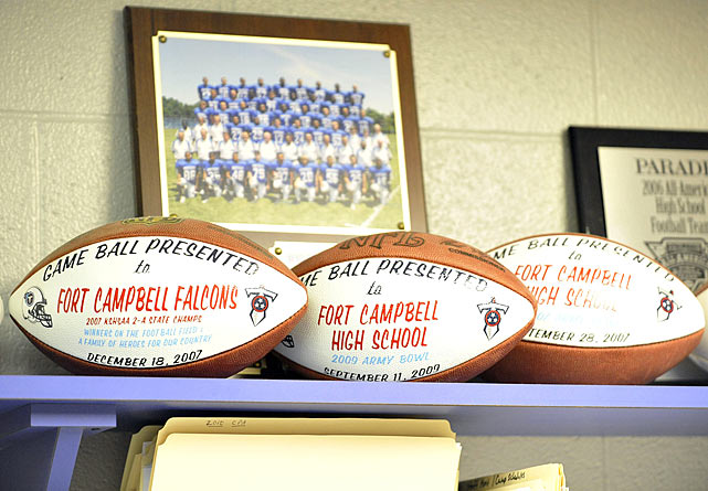 A football powerhouse in the '70s as well, Fort Campbell High won the Kentucky state championship in 1976, 1978 and 1979.