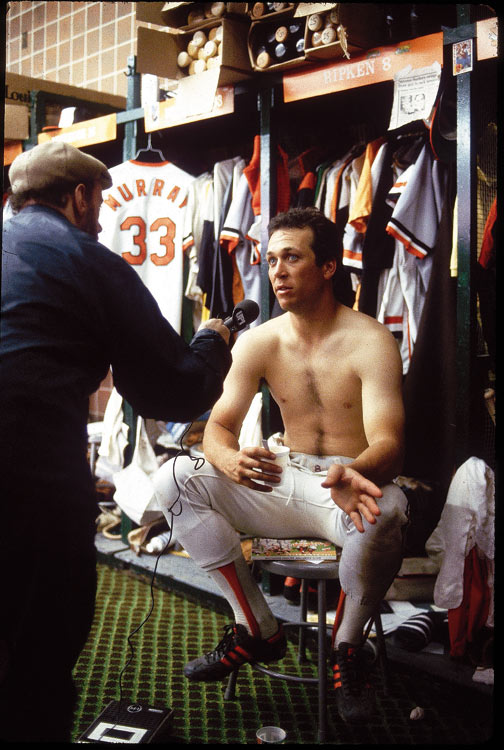 For better or worse, locker rooms have been in the news lately. So what really goes on in the inner sanctum? Here's a look, starting with a 23-year-old Cal Ripken Jr. at spring training.