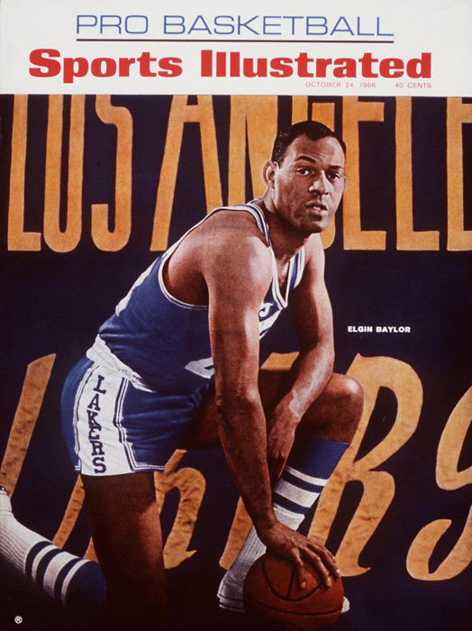 An 11-time All-Star, Hall of Fame center Elgin Baylor ranks among the top 25 in points and rebounds in NBA history.  He remained active in the L.A. basketball scene long after his playing days with the Lakers ended, serving as the Clippers GM for 22 seasons.
