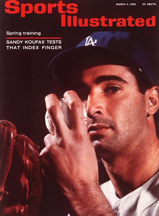The Los Angeles Dodgers may never have had a more dominant pitcher than Sandy Koufax.  The Brooklyn-born left-hander racked up three Cy Young Awards, three World Series championships and four no-hitters -- including a perfect game -- in his arthritis-shortened career in L.A.