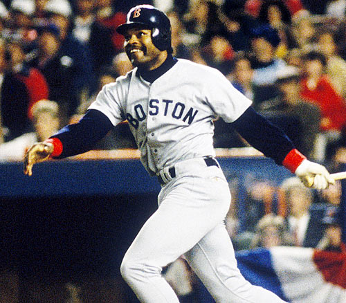 The Angels won three of the first four games of the ALCS against the Red Sox and carried a 5-2 lead into the top of the ninth, three outs from their first pennant. A two-run homer by Don Baylor cut the lead to one, and with two out, Dave Henderson hit a two-run shot of his own to give Boston a 6-5 lead. The Angels tied the score in the bottom of the ninth, but the Red Sox won in extra innings and completed their comeback by winning Games 6 and 7 handily in Fenway Park.