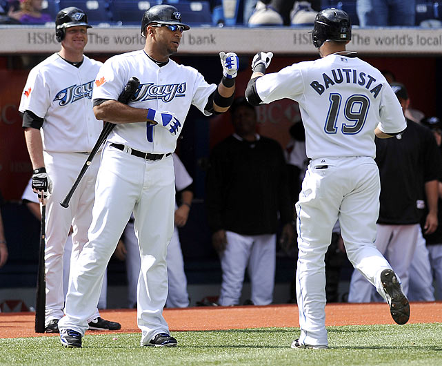 In 2009 Jose Bautista hit 13 home runs, an unremarkable total, but 10 of them came in September. That set the stage for his unforeseen eruption in 2010, when he became the first major leaguer in three years to reach 50. His milestone blast came off one of the game's best pitchers, Seattle's Felix Hernandez, and was the only run of the game.