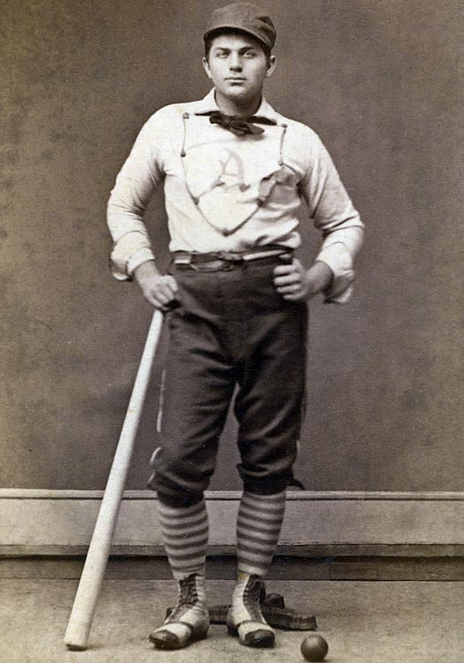 Played 13 seasons 2nd most home runs in a season: 9 (1887) 162 game average homers: 9