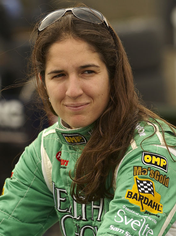 Brazil's Ana Beatriz became the first woman to win an Indy Light Series race after taking the checkers at Nashville Superspeedway in 2008.