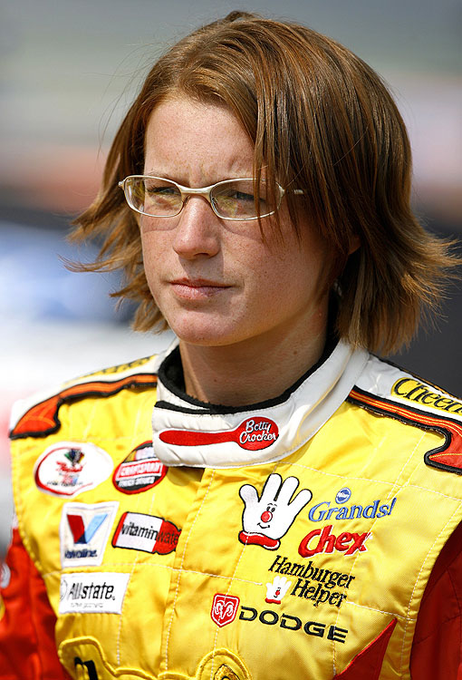 The only woman to compete full time in the Trucks Series, Erin Crocker also raced in the ARCA RE/MAX and Busch Series. She would late marry Former team owner Ray Evernham.