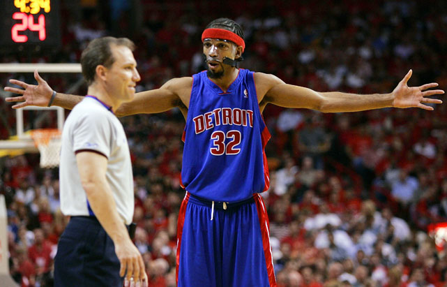 The Pistons' guard is annually among the league leaders in technical fouls.