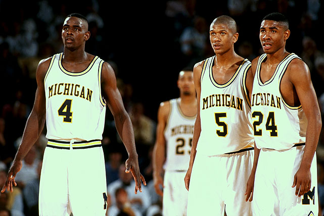 What more is there to say about the team that changed the modern paradigm of college basketball as well as its aesthetics? The Chris Webber/Jalen Rose-led quintet ushered in long shorts and a cocky, woofing style that, at the time, made you not want to miss a minute. It all began with a preseason practice where the incumbents talked a little too much smack and the freshmen teamed up to destroy them in a five-on-five. Six months later, those frosh rode a No. 6 seed all the way to the national title game, where they lost to Duke by 20.