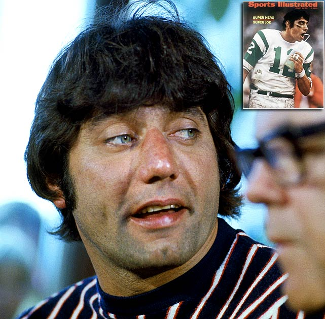"""I've got news  for you. We're gonna win the game. I guarantee it."" – Before Super Bowl  III       Honorable mention:     ""I don't know if I prefer Astroturf to grass. I never smoked  Astroturf."""