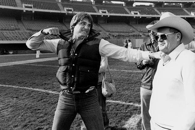 Traded from the Houston Oilers to the Oakland Raiders before the 1980 season, injured quarterback Dan Pastorini gave Oilers coach Bum Phillips a piece of his mind prior to the AFC Wild Card game on Dec. 27. Even with Pastorini sidelined with a broken leg, the Raiders defeated the Oilers 27-7.