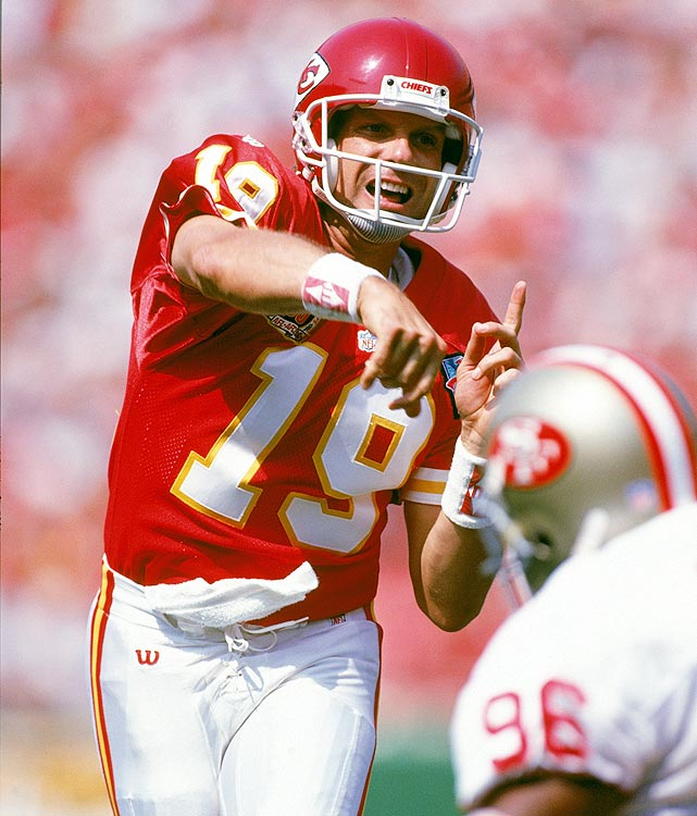 Joe Montana was everything the San Francisco 49ers could have asked for. But when he was beset with injuries between 1991-92, the team decided to go with a younger and healthier Steve Young.  Montana was traded to the Kansas City Chiefs, and in Week 3 of the 1994 season, Montana got his only shot at revenge.  Never one to disappoint, Montana was stellar, throwing for 203 yards and two touchdowns in a 24-17 Chiefs victory.