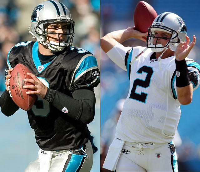 Carolina's Matt Moore was named starting quarterback after pioneering the Panthers to 4-1 record over the final five games of the 2009 season.  He hasn't been nearly as effective in 2010, posting a lowly 41.8 rating during the team's two opening week losses.  Rookie Jimmy Clausen will lead the Panthers into their Week 3 matchup with the Cincinnati Bengals.