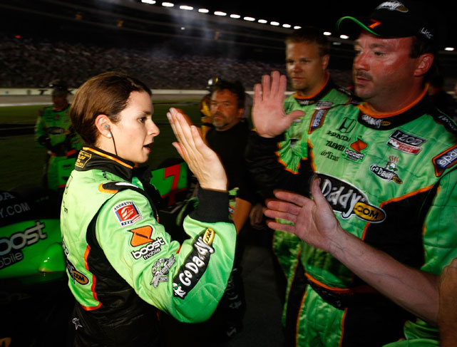 In what was one of her best career races, Danica snagged a second-place finish at Texas Motor Speedway in IndyCar's Firestone 550k.