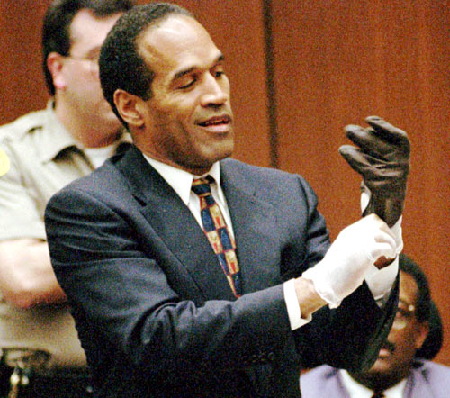 After a shocking, nationally televised low-speed police chase along the freeway in Los Angeles, the former USC and NFL star was indicted for the brutal killings of his wife Nicole Brown-Simpson and her friend Ronald Goldman. Although he'd been under a cloud for alleged drug abuse and domestic violence, Simpson was acquitted after a sensational jury trial in 1995. He was later found guilty of wrongful death in a civil case brought by Goldman's family and ordered to pay $8.5 million in compensatory damages. In 2007, Simpson was sent to prison for participating in a robbery in Las Vegas.