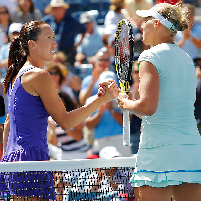 Kanepi, a Wimbledon quarterfinalist, ousted Jankovic 6-2, 7-6 (1). Jankovic, the highest-seeded player to lose in the first six days, struggled with the wind, at one point hitting a serve so badly the ball flew straight up into the air. The Serb had 41 unforced errors and just 13 winners.