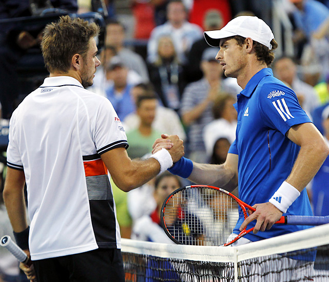 Andy Murray had been a popular pick to win, based on trips to the finals at Flushing Meadows two years ago and this year's Australian Open, along with a win in Montreal last month in which he beat both Rafael Nadal and Roger Federer. Instead, he makes his second straight early exit from the U.S. Open. Last year, as the No. 2 seed, he was upset in the fourth round by Marin Cilic. Wawrinka prevailed 6-7 (3), 7-6 (4), 6-3, 6-3 in Armstrong Stadium.