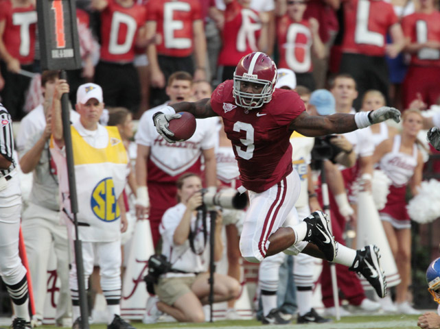 For the second straight week, top-ranked Alabama proved it didn't need Heisman Trophy winner Mark Ingram to win. Trent Richardson and the Tide rolled over Penn State, as the team's supersub running back rushed 22 times for 144 yards and a touchdown.