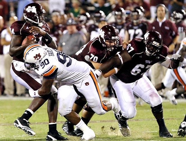 Auburn's offense was the story in the opener, but Nick Fairley and the Tigers showed they can also win with defense by holding Mississippi State to 14 points in a Week 2 win.