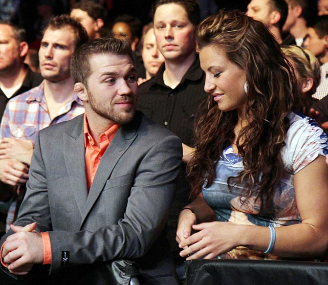Bryan Caraway ran a college MMA club at Central Washington University where he met Miesha Tate, a former high school wrestler who knew nothing about mixed martial arts. She went on to become the Strikeforce women's bantamweight champion in 2011 before joining the UFC in 2012. Caraway, meanwhile, has lost just six fights in 24 since 2005.