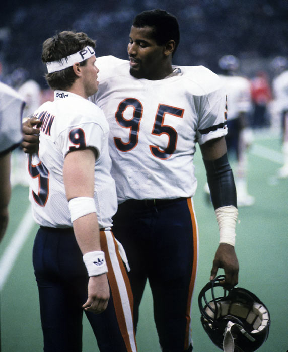 Another defensive leader for the Bears was Richard Dent, who racked up an NFL-high 17 sacks during the 1985 season.