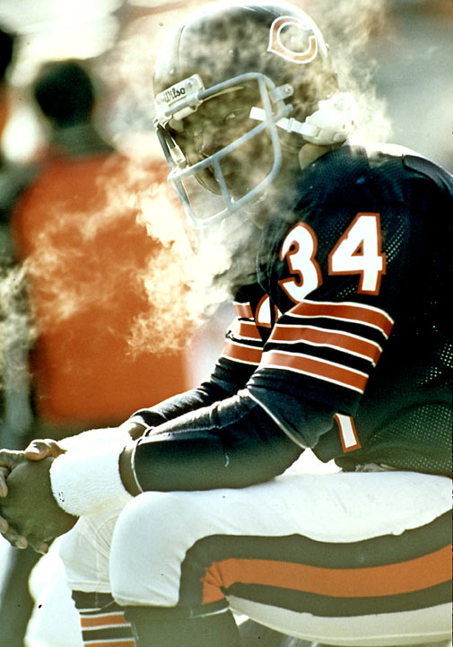 The team's best player was star running back Walter Payton, who rushed for over 1,500 yards in 1985. He would go on to set NFL records for most career rushing and all-purpose yards (later broken by Emmitt Smith). In his 13 years in the NFL, he only missed one game and finished his career with 16,726 rushing yards, 110 rushing touchdowns and nine Pro Bowl selections.