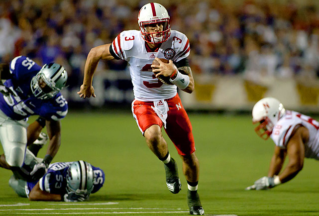 Last Week : 5-of-7 passing for 128 yards and one TD; 15 rushes for 241 yards and four TDs in 48-13 win over Kansas State   Season : 39-of-64 passing for 660 yards, three TDs and three INTs; 68 rushes for 737 yards and 12 TDs   Eric Crouch .  Tommie Frazier .  Jammal Lord . It's an impressive group looking up at Martinez in the Cornhuskers record books as the freshman ran for a program-best 241 yards against Kansas State.  The running skills have never been questioned as Martinez leads the Big 12 in rushing, but he has yet to prove he can win with his arm, mainly because no one's been able to force him to. He could be tested against a Texas defense that's 19th against the run.   Up Next : Saturday vs. Texas