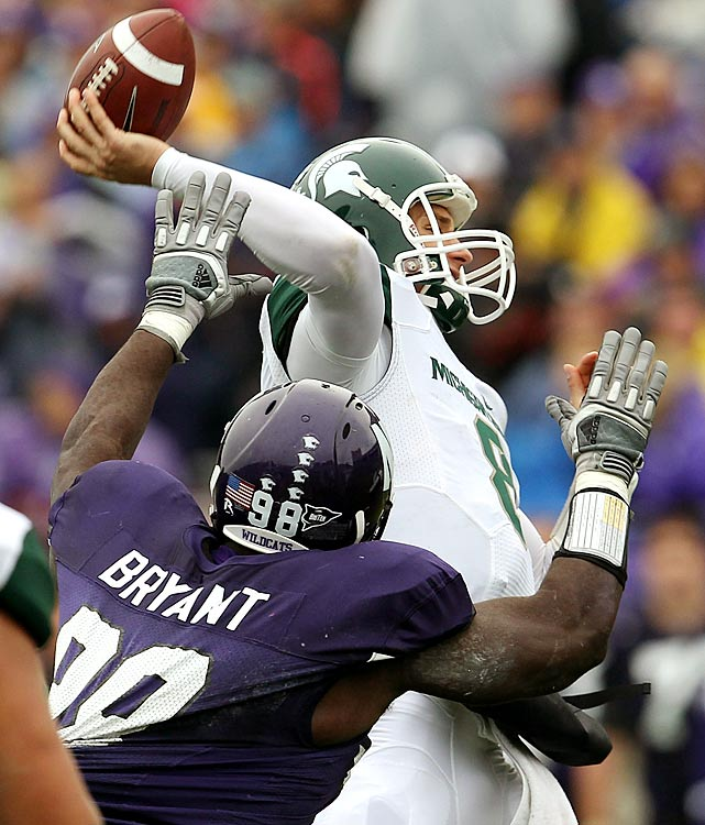 Sparty's magical run was in jeopardy until the final two minutes, when Kirk Cousins found B.J. Cunningham to take the lead on Northwestern for the first time all game. Cousins finished with 329 yards and three touchdowns and Michigan State scored 28 second-half points to move to 8-0 on the season.