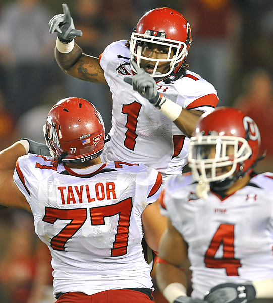There may be no stopping Shaky Smithson (top -- 75 yards and one TD) and the highly ranked Utes this season -- and that includes a three-game stretch of Air Force, TCU and Notre Dame, beginning Oct. 30. In the meantime, Utah (5-0) can relish its 41-point drubbing of a Big 12 club.