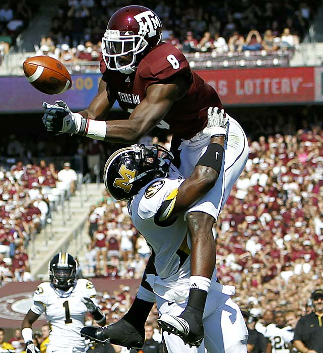 Missouri quarterback Blaine Gabbert threw for 361 yards and three touchdowns, but the Tigers advanced to 6-0 thanks to another impressive day from their defense, which held the typically prolific Texas A&M passing attack to a field goal and garbage-time touchdown.