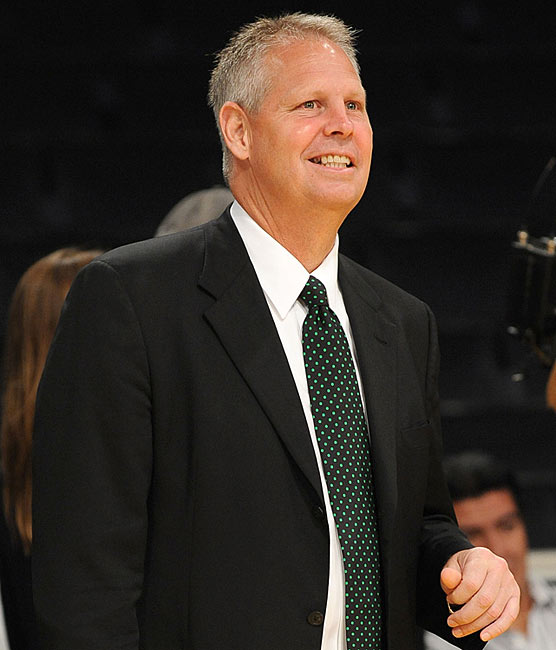 Boston Celtics general manager Danny Ainge was fined $25,000 after he tossed a towel high in the air in an attempt to distract Cleveland's J.J. Hickson from making a foul shot during Game 2 of the 2010 Eastern Conference semifinals.  The action proved fruitless; Hickson made the free throw, although Boston went on to win the game 104-86.