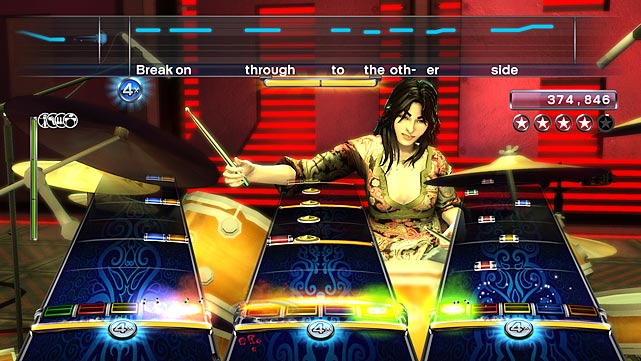 """Rock Band 3 is, simply, the best rhythm game ever made. Developer Harmonix took everything good from previous games in the franchise and removed every flaw. The track list is arguably the best of any music game yet released, and the ability to play all previously downloaded content, in addition to the lion's share of songs from Rock Band 1, 2, Lego Rock Band and Rock Band Green Day (each for a small fee) give the game an unbeatable library right out of the box. There's music here for almost any taste, and the career mode is flexible enough to let you avoid most of what you don't like.   Vocals work similarly to Beatles Rock Band (which, unfortunately, doesn't let you export tracks), integrating harmonies for up to two additional singers. Genuinely new are the game's Pro modes. Pro drums let you add cymbals to your old Rock Band 2 set and play them with discrete note tracks. If you pony up for one of the new stringed guitars, you can play newer songs using the actual chords on a real instrument. Brand new to the genre is the two-octave keyboard that can be mounted on a stand or worn like a keytaur. It feels amazing and adds a new dimension to the game.    The game's extensive training modes are more music clinic than traditional tutorials, walking you through chords, scales and finger placement. It's fascinating, educational and, if you're dedicated, can actually teach you to play """"real"""" instruments. With an optional adapter, the new Rock Band instruments can even interface with MIDI-compliant music software.    If you're at all into the music game genre, or if you enjoy social gaming at all, Rock Band 3 is an absolutely must-own with support for seven simultaneous players. The few annoyances in Rock Band 2 have been rectified and all that's left is sheer perfection that you'll be playing for years to come. Until someone invents the Next Big Thing, this is as good as it's going to get.    Score: 10/10"""