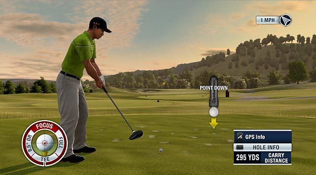 No need to wake up before dawn on a Saturday to beat everyone to the first tee, Sony's new motion controller is ready for Tiger Woods PGA Tour 11. All you need now is a couple extra feet of space in your living room to grip it and rip it.     Move is more sensitive than the Wiimote, adding a nuanced approach to ball striking. Just like in real golf, your best shots result from keeping your head down. The 3D eye camera translates a simple twist of your wrist into either a draw or a fade. The toughest shots are the mid-range pitches, while the putting mechanic makes dropping the ball in the cup just as realistic, challenging and rewarding as ripping off a 300-yard drive.  In fact the toughest part about adjusting to the realistic swing mechanics will be remembering not to look at the TV until after your follow through.    Aiming functionality still lacks precision and the third-person perspective hurts the realism of the experience. But hiccups are expected on any first time upgrade, and we fully expect the Move to make Tiger a stronger game next year.    Score: 8.5/10