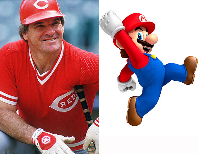What do Pete Rose and Mario have in common? Well, September 2010 marked notable 25th anniversaries for both. Pete Rose broke baseball's all-time hits record on Sept. 11, 1985, wrapping a single off San Diego's Eric Show for hit number 4,192. Two days later, Super Mario Bros. for the Nintendo Entertainment System was released in Japan. Rose and Mario took very different paths after that. Rose finished his illustrious playing career with 4,256 hits and went on to manage the Cincinnati Reds for several years before being forced out of major league baseball after denying he had bet on games as a manager. Rose eventually admitted to betting on games, but his MLB-sanctioned lifetime ban from baseball still stands. Meanwhile, Super Mario Bros. went on to sell over 40 million copies and became Nintendo's signature character and leading man for its biggest releases.
